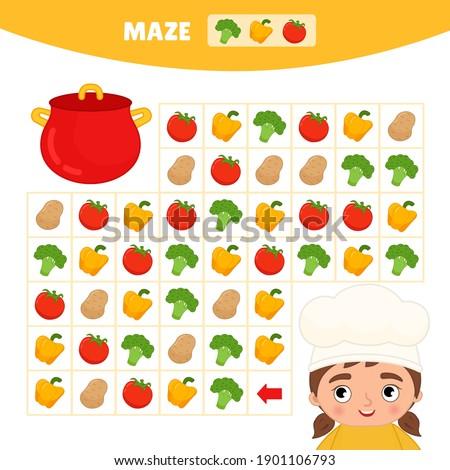 maze game for children help