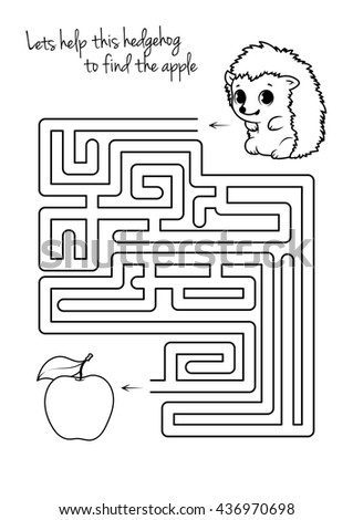 maze game for kids with