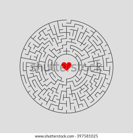 maze labyrinth with answer