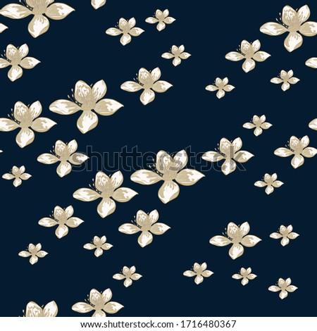 meadow full of fragrant flowers