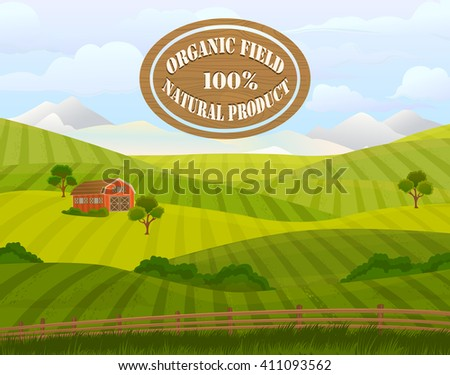 meadow landscape green grass