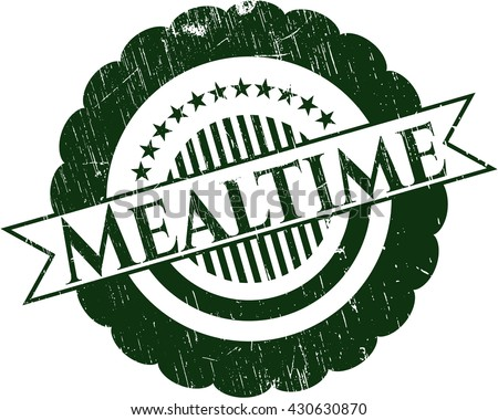 Mealtime rubber seal