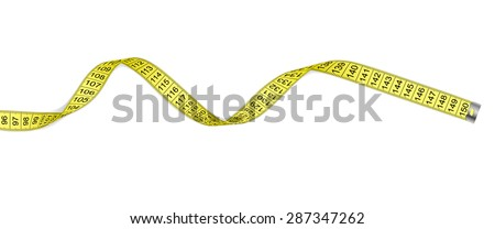 Measure design over white background, vector illustration