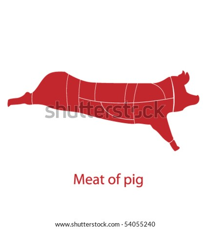 Meat of pig