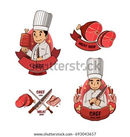 meat shop logo
