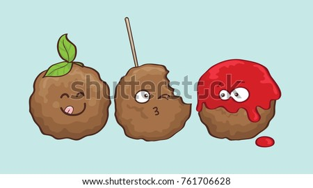 Meatball Free Vector Art 46 Free Downloads