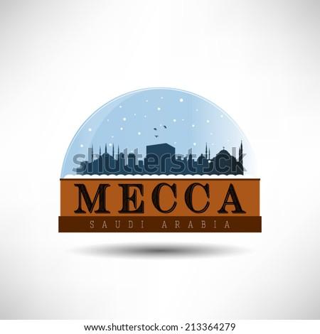 mecca  saudi arabia  skyline