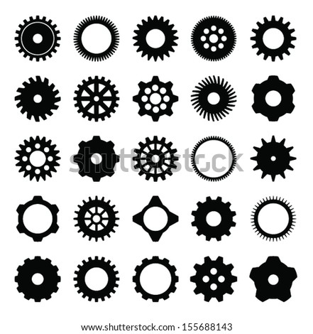 mechanical cogs and gear wheel