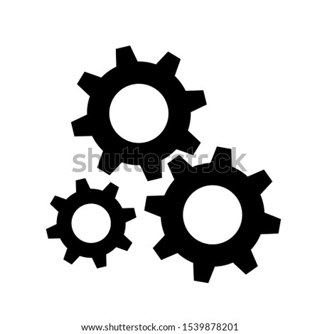 Mechanical gears Icons, Gears Icon