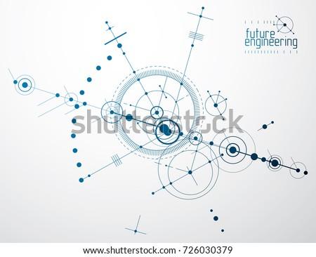 mechanical scheme  vector
