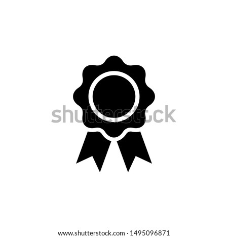 Medal, Award icon vector isolated.