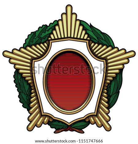 medal  order  for rewarding