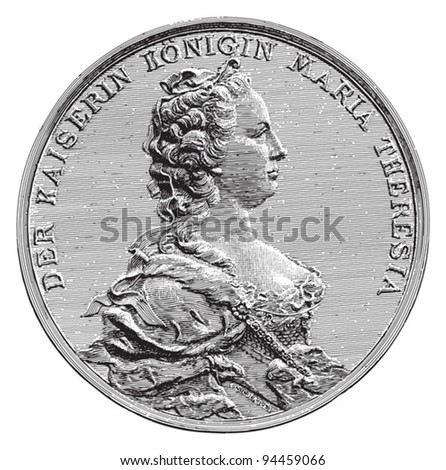 medal queen maria theresia