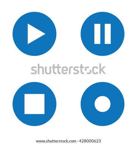 Media Button Icons