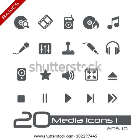 Media Icons // Basics