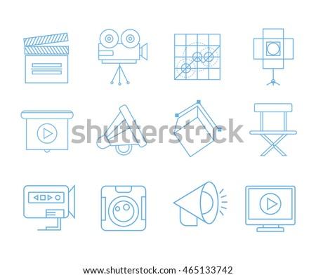 media icons  movie icons