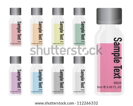 medical and cosmetics vials