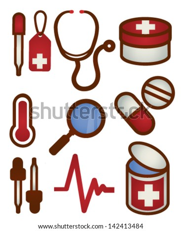 Medical and Health care Icon - Vector File EPS10