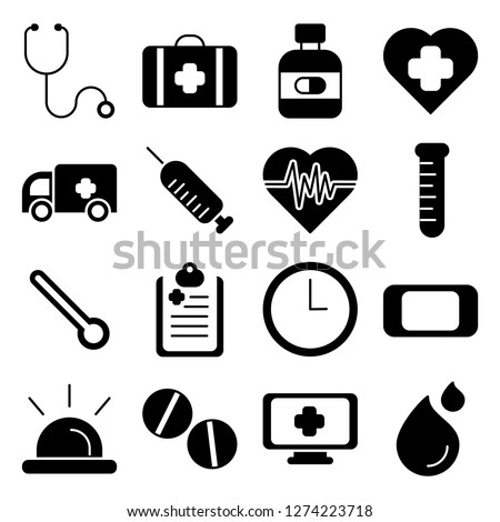 Medical and medical staff icons pack. Isolated medical and medical staff symbols collection. Graphic icons element #1274223718