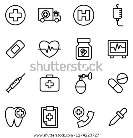 Medical and medical staff icons pack. Isolated medical and medical staff symbols collection. Graphic icons element #1274223727