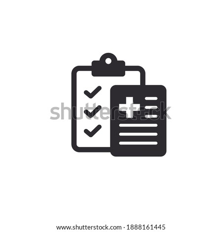 Medical card. Medical insurance. Medical record. Medical diagnosis. Add file. Profile icon. Accept document. Paper icon. Id card. Personal document. Identification card. Survey. Sick leave. Task done.