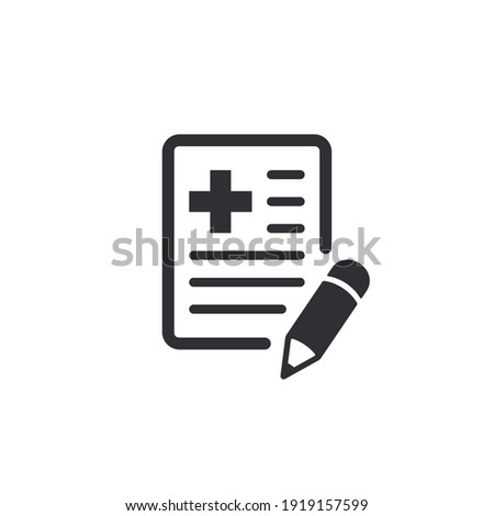 Medical card. Medical insurance. Record. Medical diagnosis. Add file. Profile icon. Document icon. Paper icon. Personal document. Identification card. Id card. Notes. Medical survey. Sick leave. Care