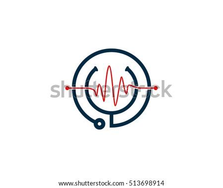 Medical Clinic Logo Design Template Element