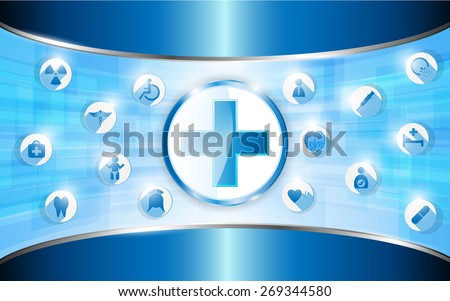 medical concept background and