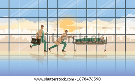 medical concept scene of the