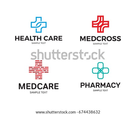 Free Health And Cares Logo Collection Vector Download Free Vector