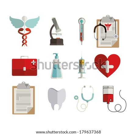 medical design over white
