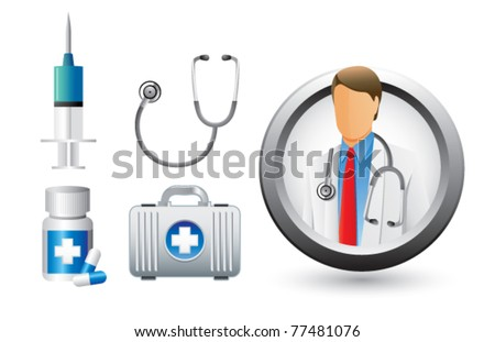 Medical doctor and equipment