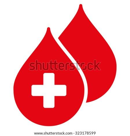 medical drops vector icon