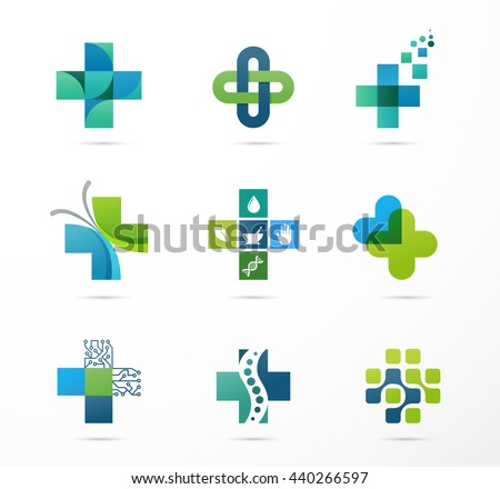 medical, healthcare and pharmacy icons