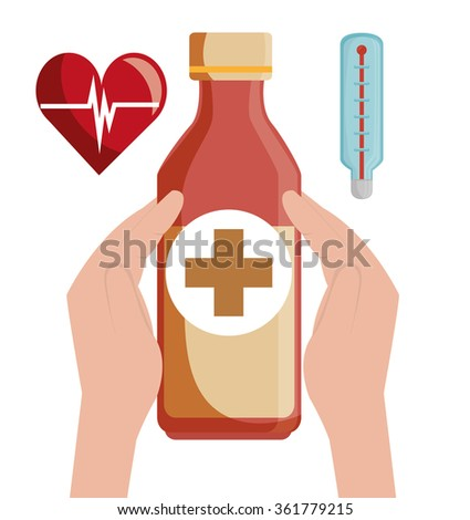 Medical healthcare graphic  #361779215
