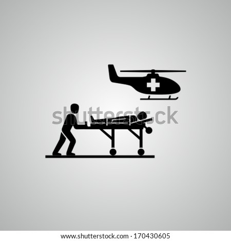 Medical helicopter