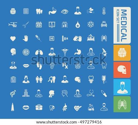 Medical icon,Healthy care icon set,vector