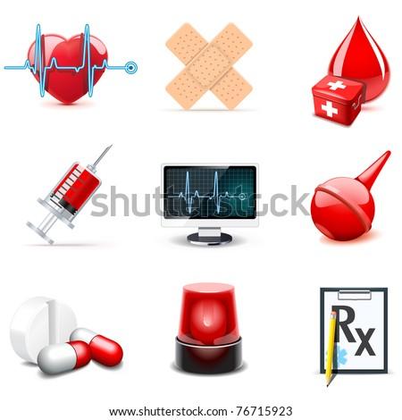 Medical icons | Bella series 1