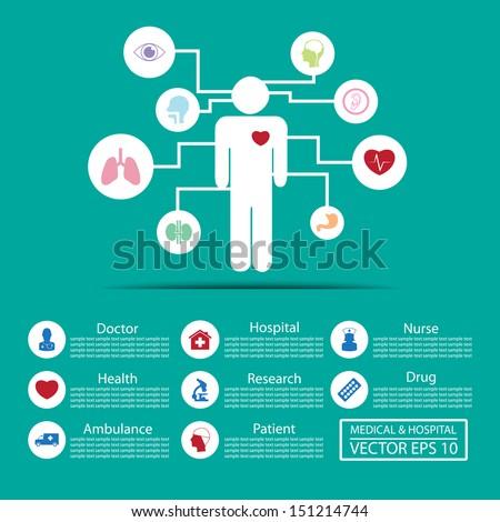 Medical icons ,Illustration eps 10