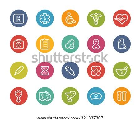 Medical Icons // Printemps Series