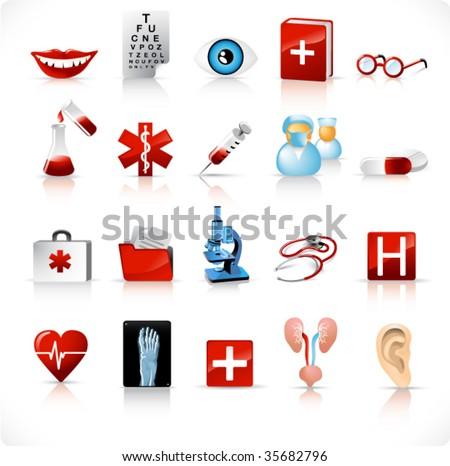 medical icons set 2