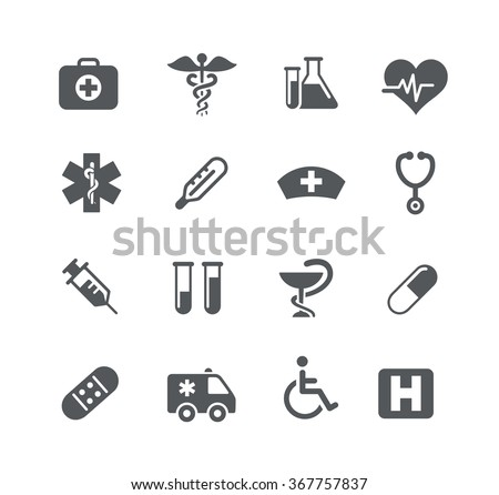 Medical Icons // Utility Series