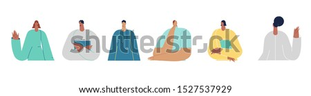 Medical insurance, doctors concept.  Vector illustration flat design. Use in Web Project and Applications.