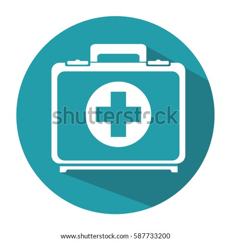 medical kit isolated icon