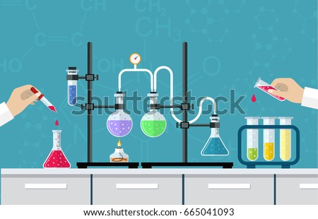 Chemistry vector download vetores e grficos gratuitos research testing studies in chemistry physics biology laboratory ccuart Gallery