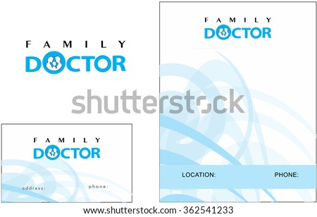 Medical Logo, Business Card and Flyer ready design