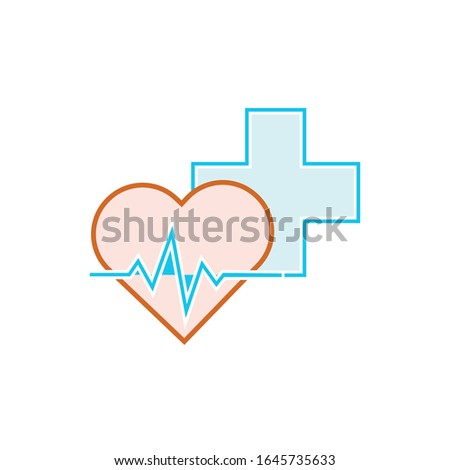 Medical logo. Pharmacy, drugstore, health care center, diagnostics services. Сток-фото ©