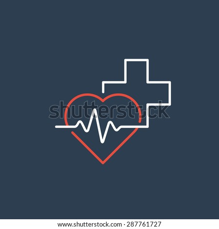 Medical logo. Pharmacy, drugstore, health care center, diagnostics services Сток-фото ©