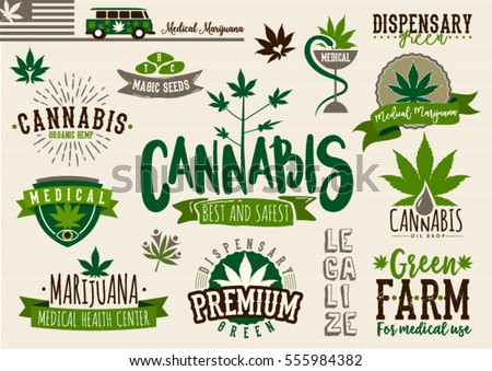 medical marijuana product label