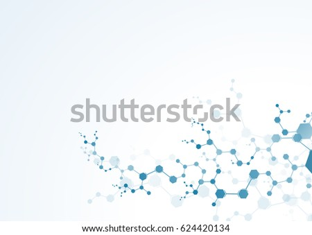 medical molecules concept
